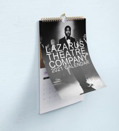 Lazarus Theatre Company 2021 Calendar  in support of Acting for Others