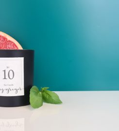100% soy wax candles bygregor