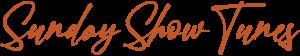 Sunday Show Tunes logo