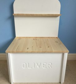 OMY personalised toy box