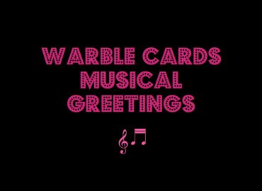 Warble Cards Musical Greetings
